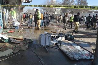 PAKISTAN BOMB BLAST POLIO VACCINATION