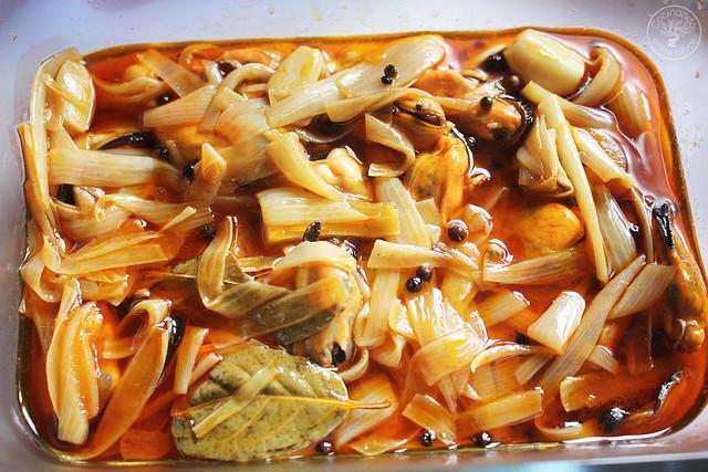 Mejillones en escabeche caseros www.cocinandoentreolivos.com (11)