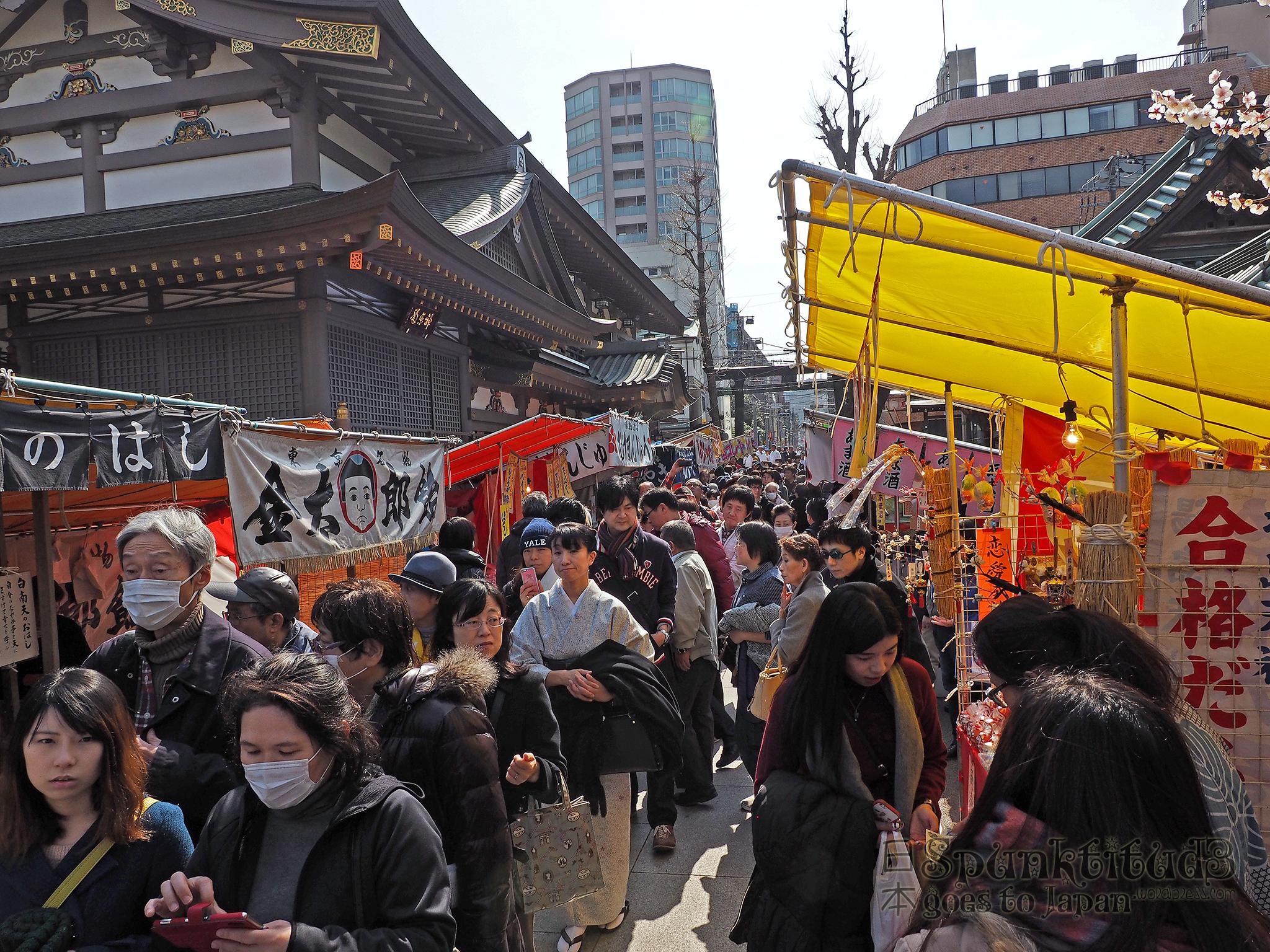 Yushima Tenjin Plum Blossom Festival