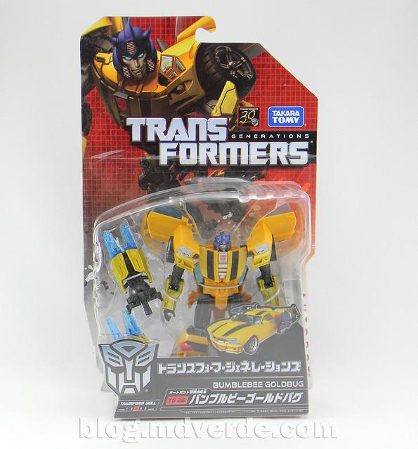Transformers Bumblebee Goldbug Deluxe - Generations Takara - caja