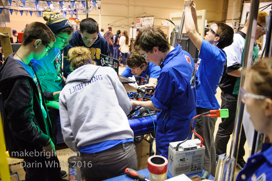 FIRST Robotics Regionals - UW - April 2016 500