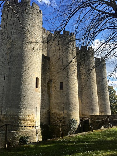 Towers at Château de Roquetaillade
