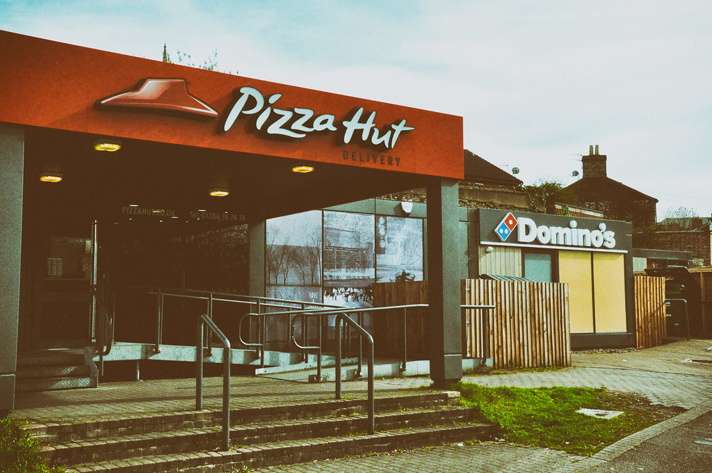 Bury St Edmunds Pizza Land Trying Google Nik Software Flickr
