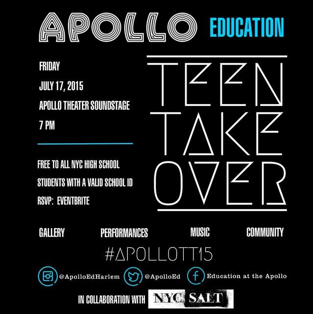 Apollo Teen Takeover 2015