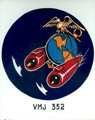 VMJ-352 Insignia, circa 1943