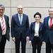 Achim Barchmann beim Treffen mit dem kosovarischen Botschafter