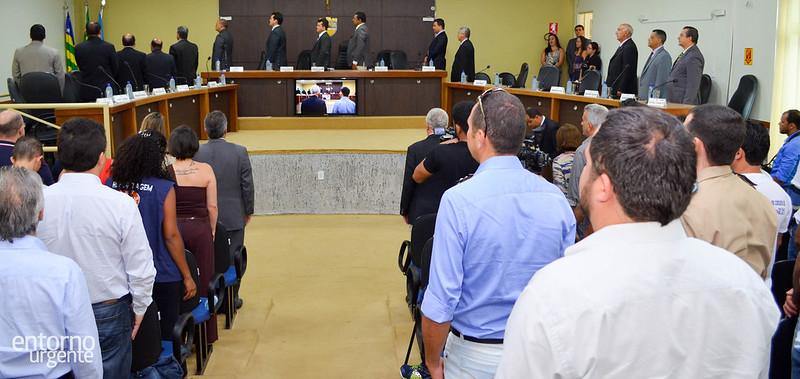 Mundim assume presidência da Câmara de Formosa e já pratica primeiro ato