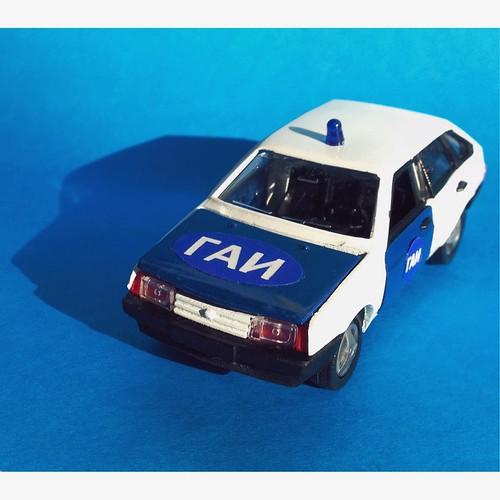 1:43 Mossar / Incotex Lada Samara GAI / ГАИ (МОССАР / Инкотекс)