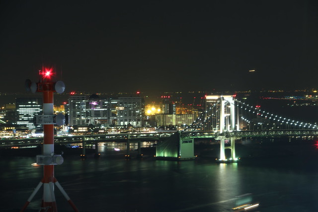 夜景 世界貿易センタービルディング40F展望台