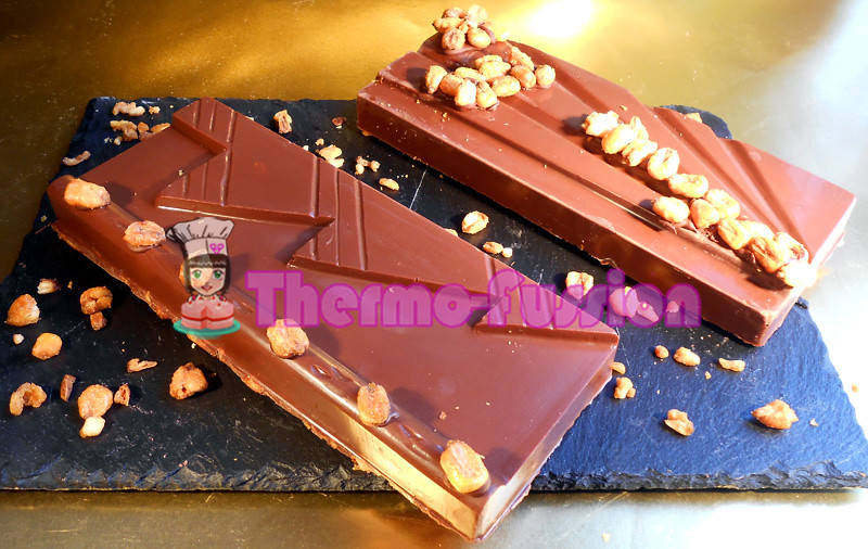 Turrón De Chocolate Con Kikos Thermomix