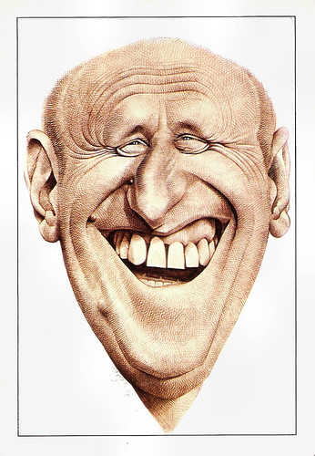 Bourvil by Mulatier