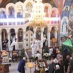 Великая вечерня в Михаило-Архангельском храме г. Крымска