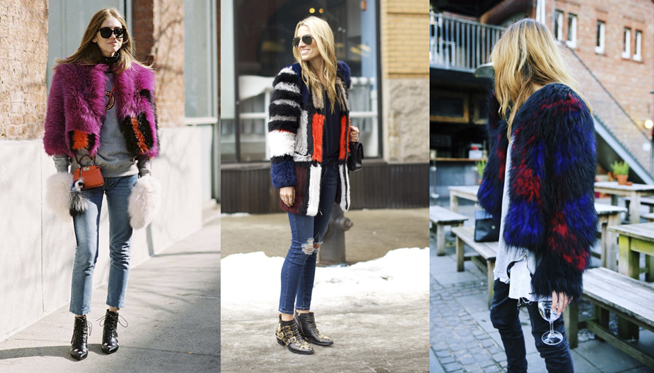 patchwork-bright-colored-fur-street-style-outfit