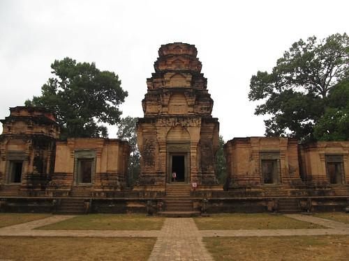 Angkor: le temple Prasat Kravan