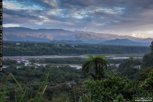 panorama landscape ecuador macas