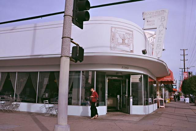 Magnolia Bakery on 3rd Street, Los Angeles