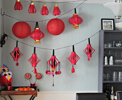 String of Chinese Lanterns