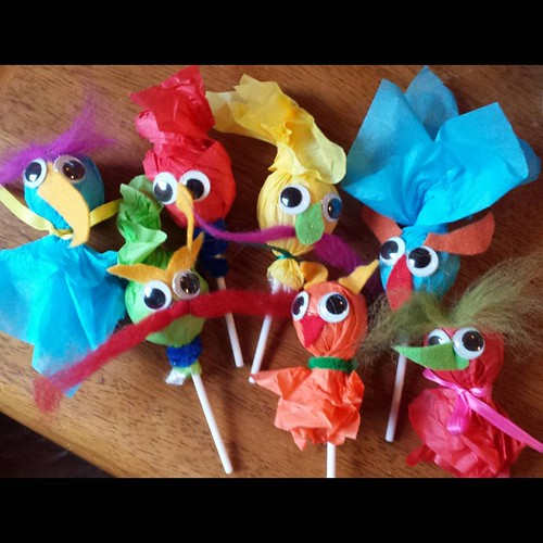 Muppet Goblin Lollipops