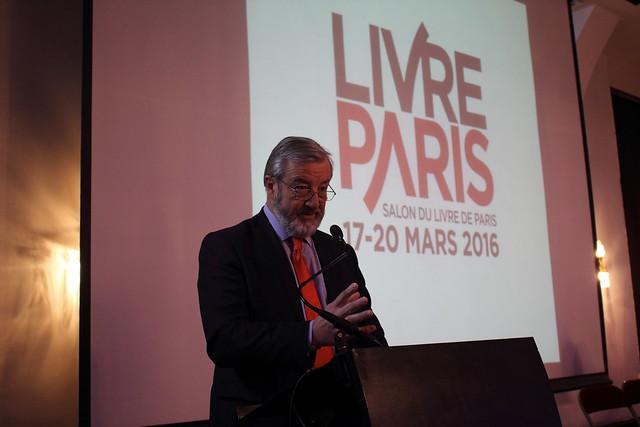 Vincent Montagne (SNE) - Présentation du Salon Livre Paris 2016