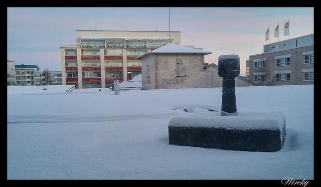 Laponia motos nieve renos pueblo papa noel - Despertar en Rovaniemi