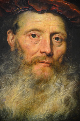 Govert Flinck - Bearded Man with a Velvet Cap