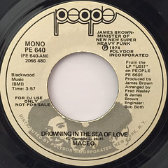 MACEO:DROWING THE SEA OF LOVE(LABEL SIDE-B)