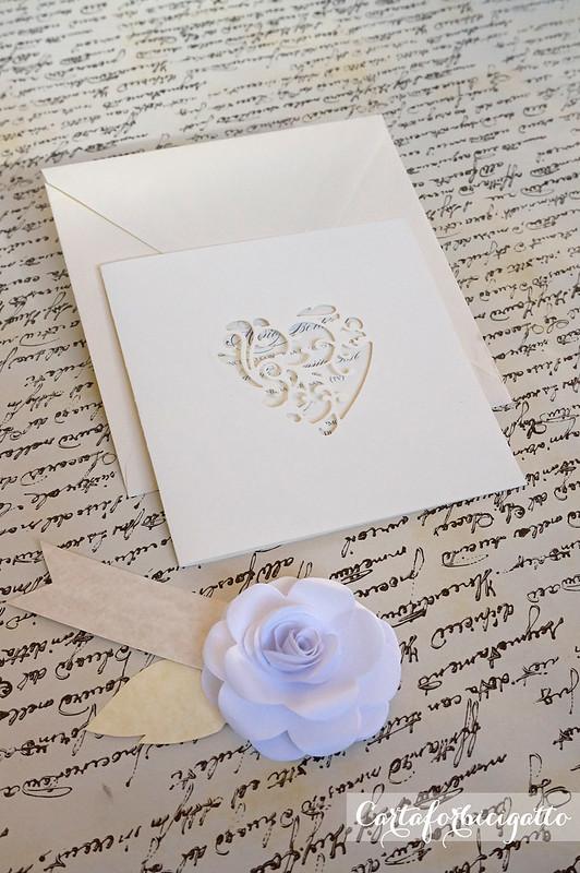 Jolie Square Wedding Invitation - Partecipazioni Jolie quadrate