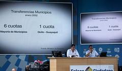 02/13/2016 - 10:49 - Guayaquil, sábado 13 de febrero del 2016 (Andes).-La explanada del Centro Civico, en Guayaquil fue el escenario del Enlace Ciudadano #462 Foto:Andes/César Muñoz