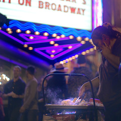 Globe Theatre LA Hot Dog Cart