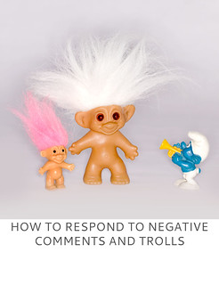 Not Dressed As Lamb | How to Respond to Negative Comments and Trolls