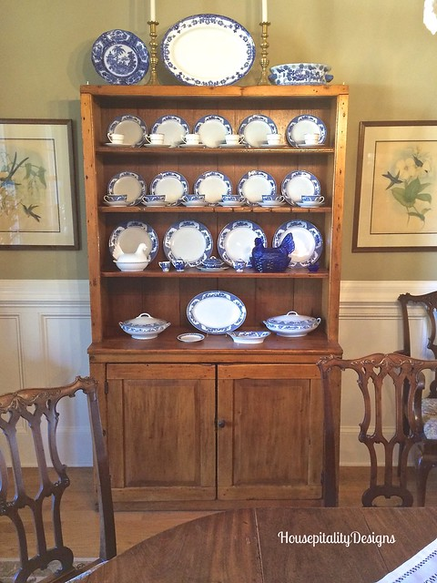 Stepback cupboard - Housepitality Designs