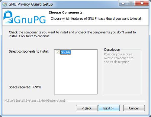 Installing GnuPG for Windows (3)