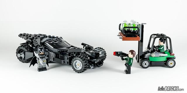 REVIEW LEGO 76045 DC Comics Batman Kryptonite Interception 30