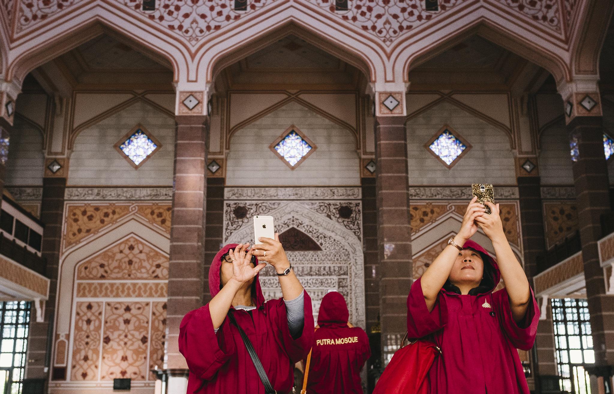 The Photographer | Putra Mosque