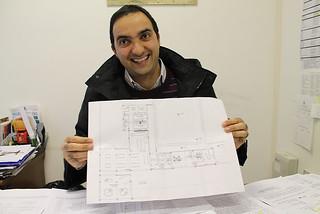 Paolo Mazzone e la mappa della mensa