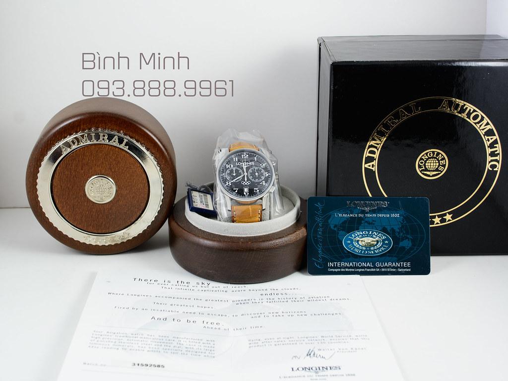 Đồng hồ Longines Olympic Admiral Heritage máy Automatic, mới 100%, full box