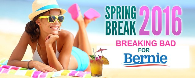 Bernie's Spring Break
