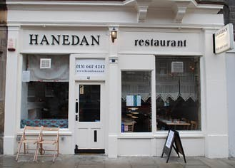 Hanedan Restaurant West Preston Street Edinburgh