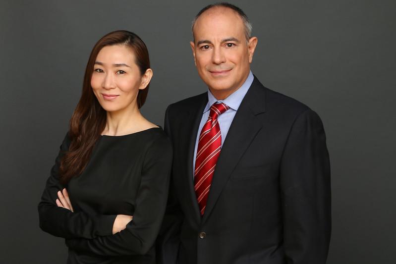 Mark Haddad and Sara Shen 1