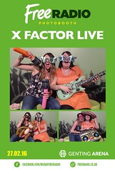X Factor Live Photobooth