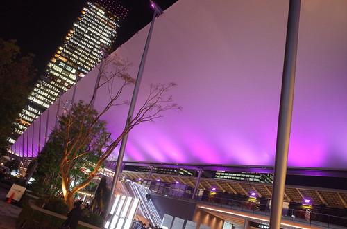 Granroof Tokyo Station Sakura colored lightup 01