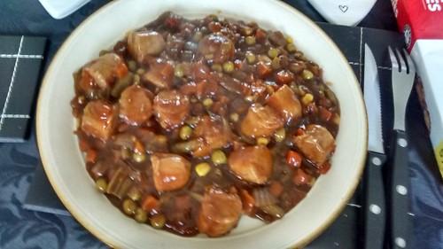 sausage casserole Mar 16