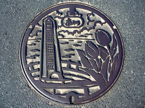 Amino Kyoto, manhole cover (京都府網野町のマンホール)