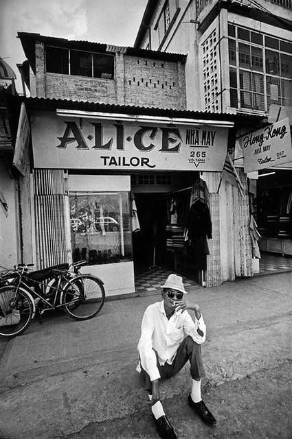 Saigon 1972 by Raymond Depardon - Đường Võ Tánh Gia định