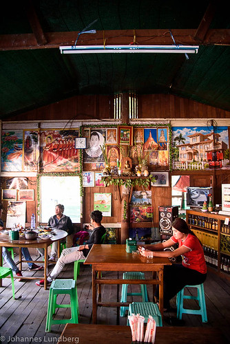 expedition girl burma indoor myanmar coffeehouse