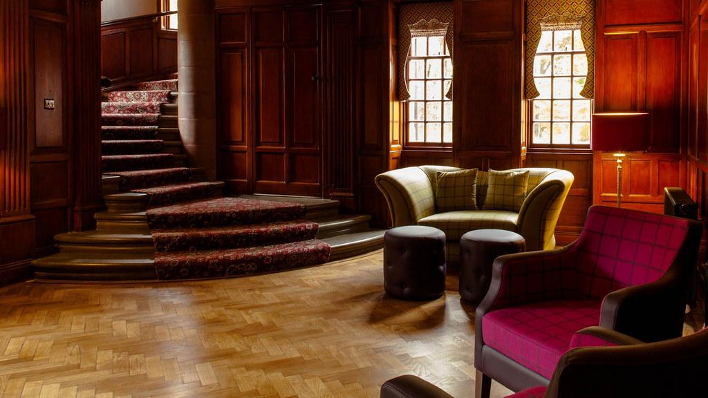 Fonab castle for Victorian tudor suite