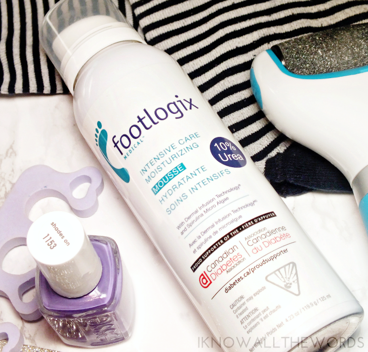 footlogix medical intensive moisturizing mousse (3)