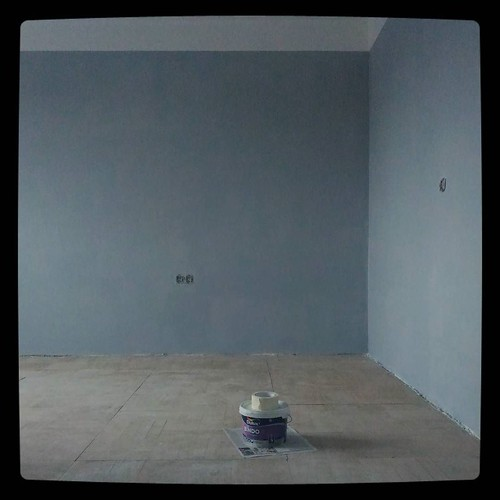Work in progress: end of day 6, ceiling and walls are done. #kuzzzmahomesweethome