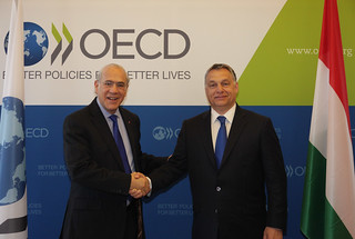 Official visit to the OECD of Viktor Orbán, Prime Minister of  Hungary