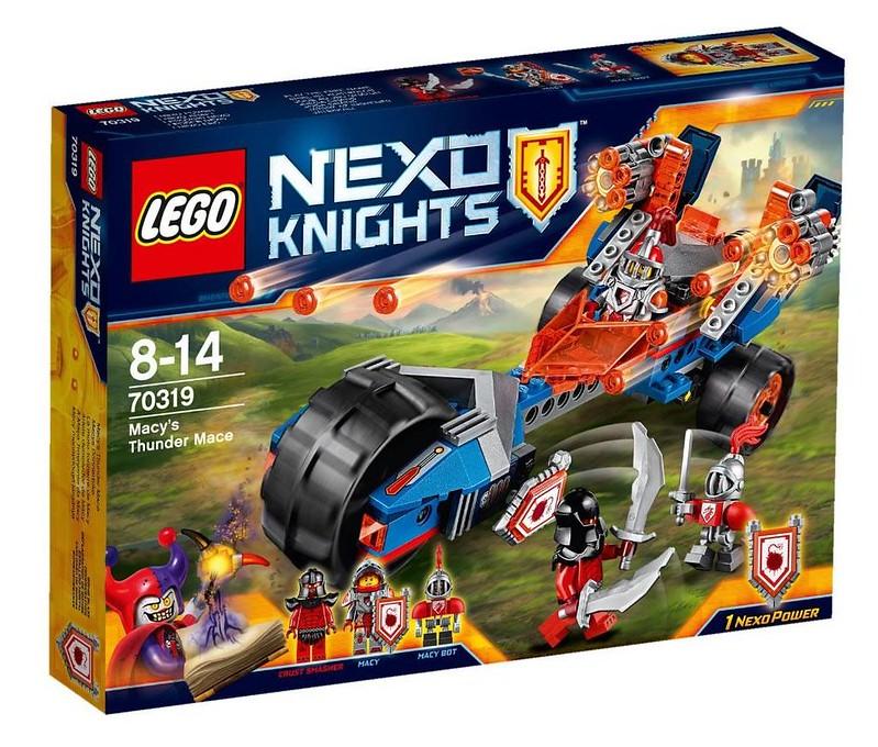 LEGO Nexo Knights 70319 - Macy's Thunder Mace